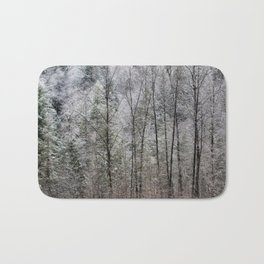 Snow Dusted Trees, No. 1 Bath Mat