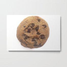 Chocolate Chip Cookie Metal Print