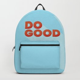 DO GOOD - positive type Backpack