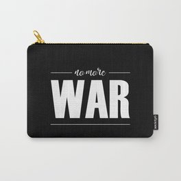 No More War (white) Carry-All Pouch