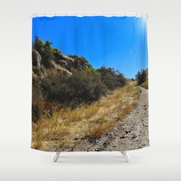 Dust and Dirt Shower Curtain