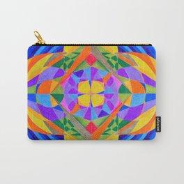 Geometric Meditation Mandala Carry-All Pouch