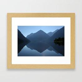 Candy mountains Framed Art Print