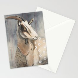 Goats Are Nuts Stationery Cards