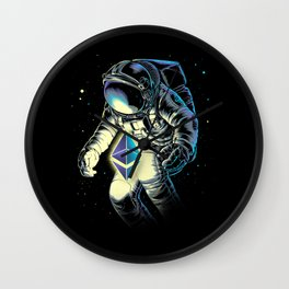 Space Ethereum Wall Clock