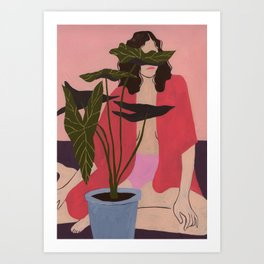 High Expectations Art Print
