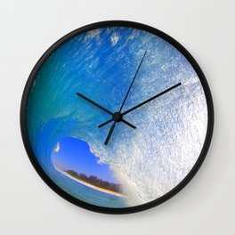 Hawaii Keiki Shorebreak Wall Clock