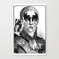 heavy metal Canvas Prints featuring Heavy metal by DIVIDUS DESIGN STUDIO