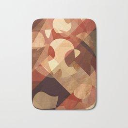 Abstrato Cobre 01 Bath Mat