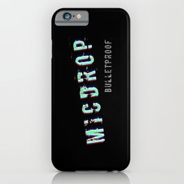 BTS MICDROP iPhone Case