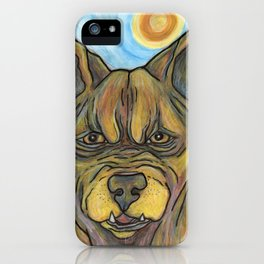 Junkyard Dog iPhone Case