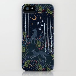 Midnight Exploration iPhone Case