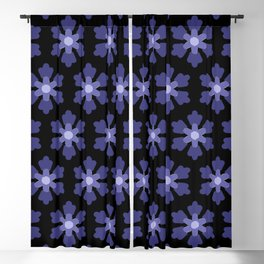 Blue Stars Bright Blackout Curtain