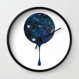 Cosmic Drip Wall Clock