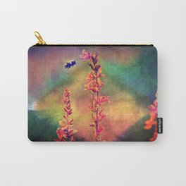 Bee N Wildflowers Diamond Earth Tones Carry-All Pouch
