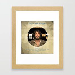 Album Cover Ray LaMontagne Framed Art Print