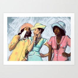 Gossip Art Prints   Society6