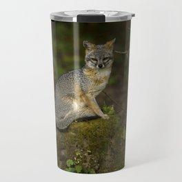 A fox in the jungle Travel Mug