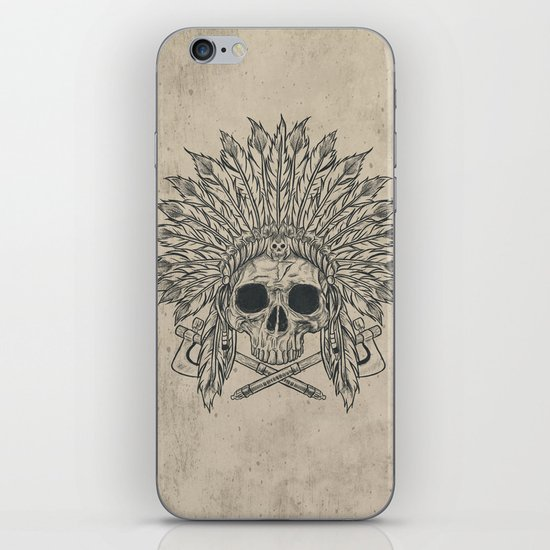 The Dead Chief iPhone Skin