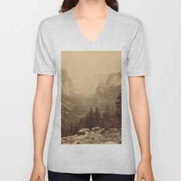 Yosemite Valley from Inspiration Point Unisex V-Neck