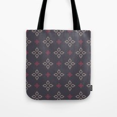 Abstract floral shapes Tote Bag