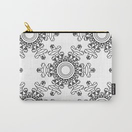 Ornate snowflake Carry-All Pouch
