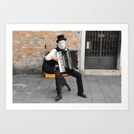 The Accordionist  Art Print