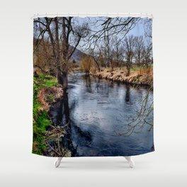 Winterimpression Shower Curtain