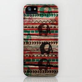 Elephant Wood iPhone Case