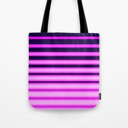 Vaporwave Stripes! Tote Bag