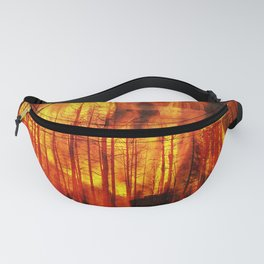 Forest Fires Fanny Pack