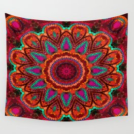 Kaleidoscope for moments of relaxation Wall Tapestry