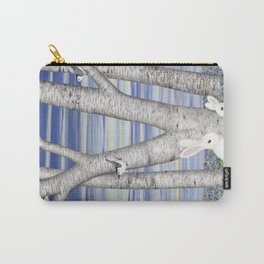 nuthatches, bunnies, and birches Carry-All Pouch