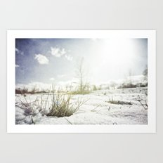 { GRASSY PERSPECTIVE } Art Print