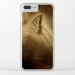 Butterfly 2 Clear iPhone Case