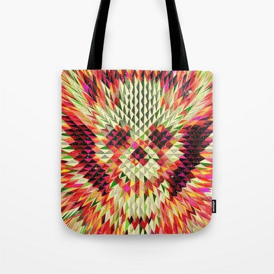 Geo Skull Tote Bag