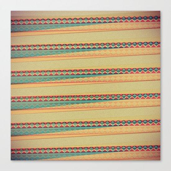 Frequencies Canvas Print