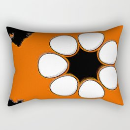 Northern Territory Australia Map with NT Flag Rectangular Pillow