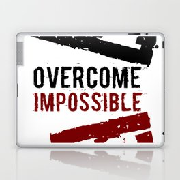 Ovecome Impossible Laptop & iPad Skin
