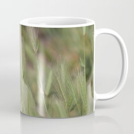 Wild Grass in Sage and Pink Lemonade Coffee Mug