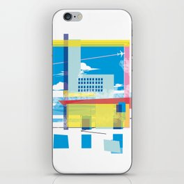 funky town iPhone Skin