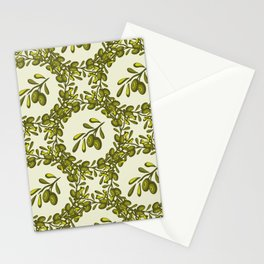 Olives texture 55 Stationery Cards