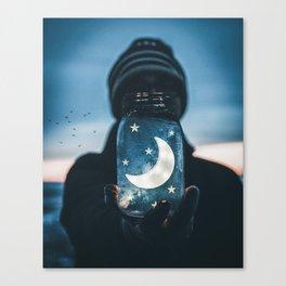 Moon Jar by GEN Z Canvas Print