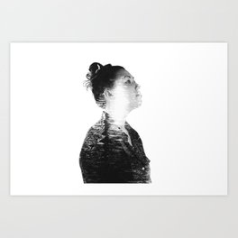 Inner Spirits. Water. Art Print