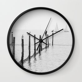 Northern Sea Wall Clock