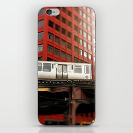 Chicago Train Photography - 2817 iPhone Skin
