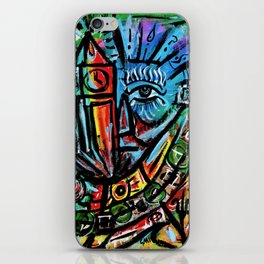 Elon - Abstract Expressionism iPhone Skin