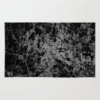 rome Area & Throw Rugs featuring Rome by Line Line Lines