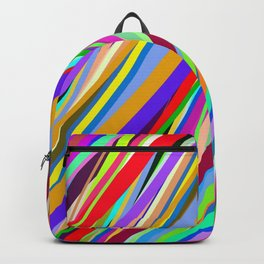 Colored Ribbon  Backpack