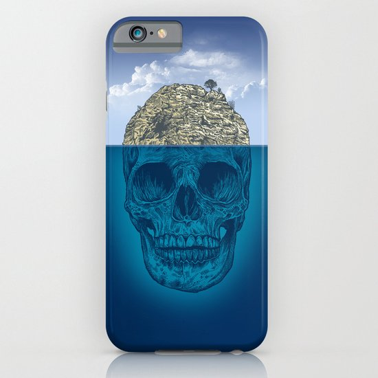 Skull Island iPhone & iPod Case